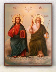 Икона «Троица Новозаветная» (образец №2)