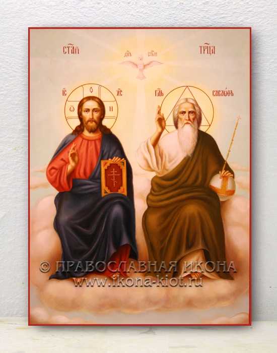 Икона «Троица Новозаветная» (образец №4)