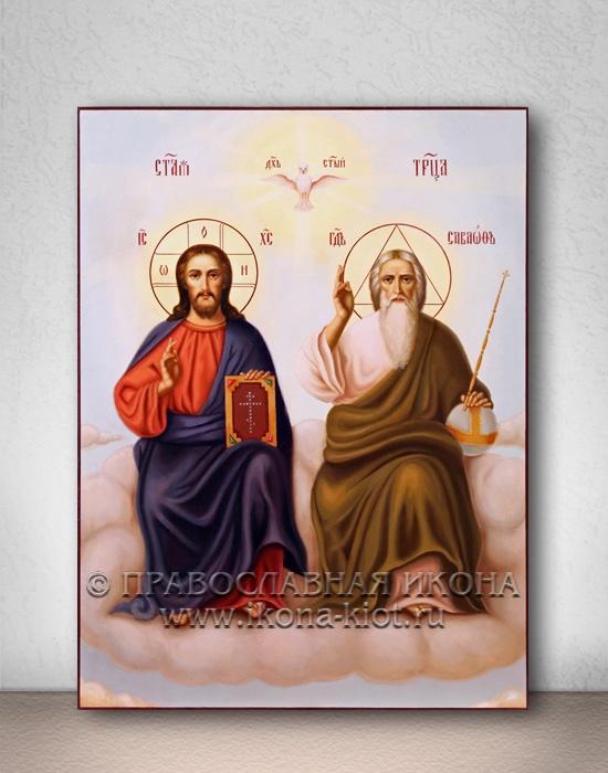 Икона «Троица Новозаветная» (образец №5)
