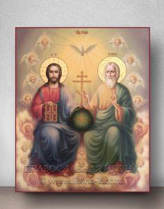 Икона «Троица Новозаветная» (образец №6)