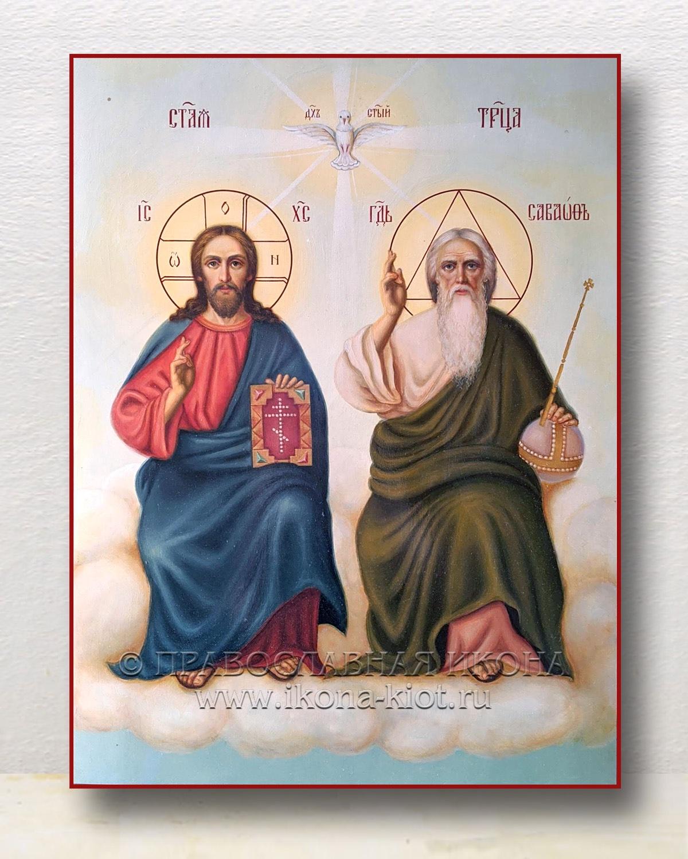 Икона «Троица Новозаветная» (образец №7)