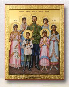 Икона «Царственные страстотерпцы (Царская семья)»