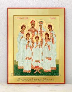 Икона «Царственные страстотерпцы (Царская семья)» (образец №4)
