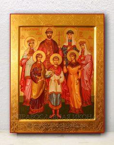 Икона «Царственные страстотерпцы (Царская семья)» (образец №5)