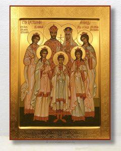 Икона «Царственные страстотерпцы (Царская семья)» (образец №8)