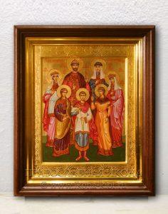 Икона «Царственные страстотерпцы (Царская семья)» (образец №9)
