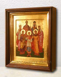 Икона «Царственные страстотерпцы (Царская семья)» (образец №10)