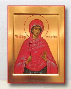 Икона «Валентина, мученица» (образец №3)