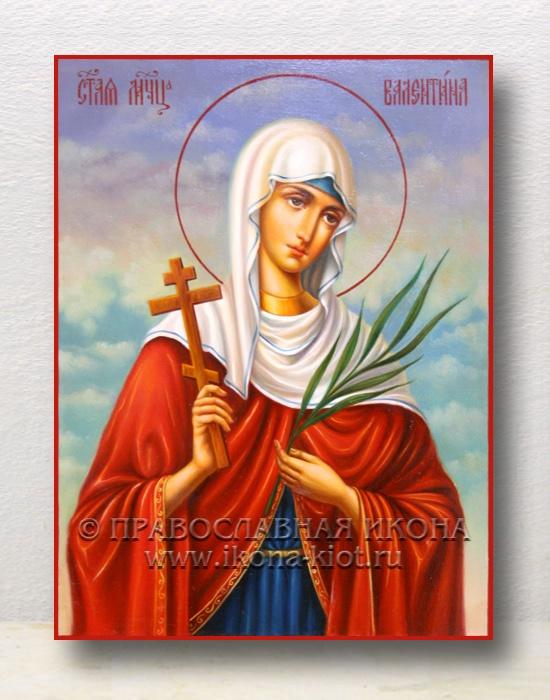 Икона «Валентина, мученица» (образец №4)