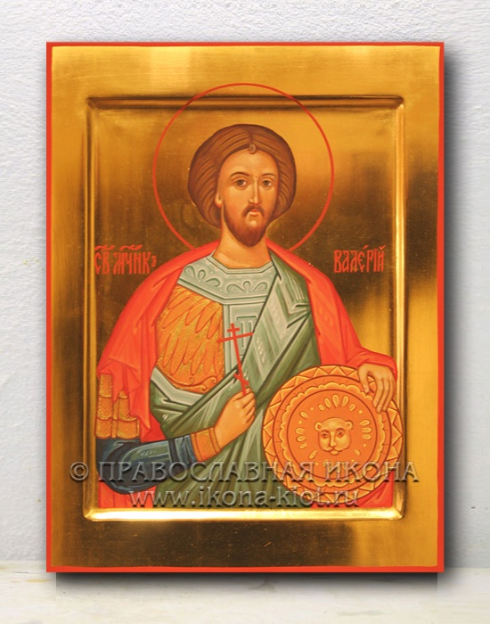 Икона «Валерий Севастийский, мученик» (образец №2)
