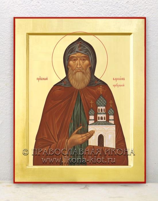 Икона «Варлаам Серпуховский» (образец №1)