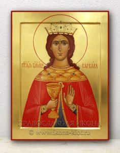 Икона «Варвара Илиопольская, великомученица»