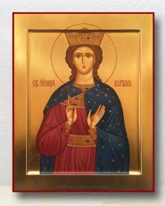 Икона «Варвара Илиопольская, великомученица» (образец №10)