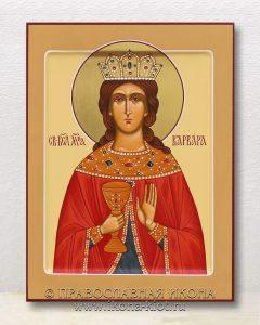 Икона «Варвара Илиопольская, великомученица» (образец №15)