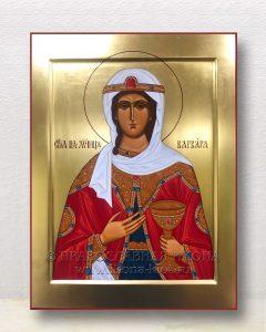 Икона «Варвара Илиопольская, великомученица» (образец №18)