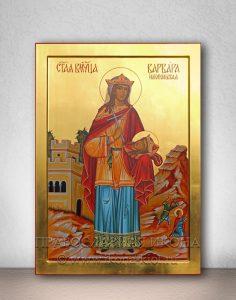 Икона «Варвара Илиопольская, великомученица» (образец №6)
