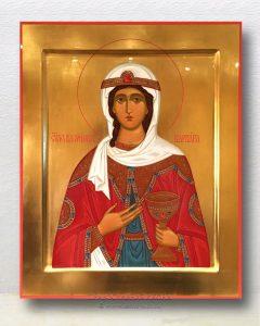 Икона «Варвара Илиопольская, великомученица» (образец №9)