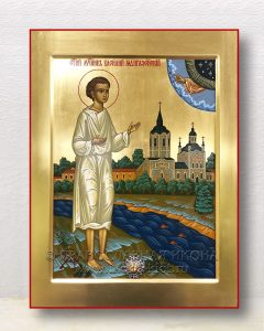 Икона «Василий Мангазейский, чудотворец» (образец №1)