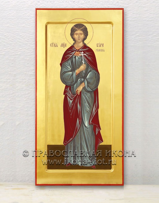 Икона «Вера, святая мученица» (образец №1)