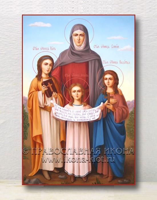 Икона «Вера, Надежда, Любовь и София» (образец №5)