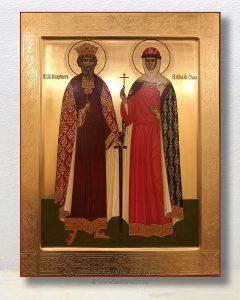 Икона «Владимир и Ольга, равноапостольные» (образец №1)