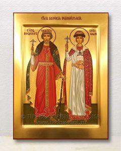 Икона «Владимир и Ольга, равноапостольные» (образец №3)
