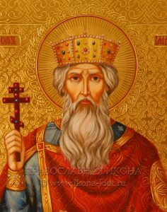 Икона «Владимир равноапостольный» (образец №15)