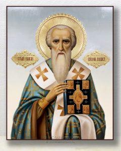 Икона «Власий Севастийский» (образец №1)