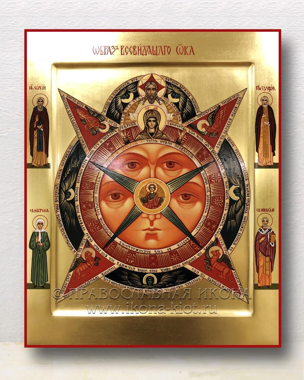 Икона «Всевидящее око Божие» (образец №1)