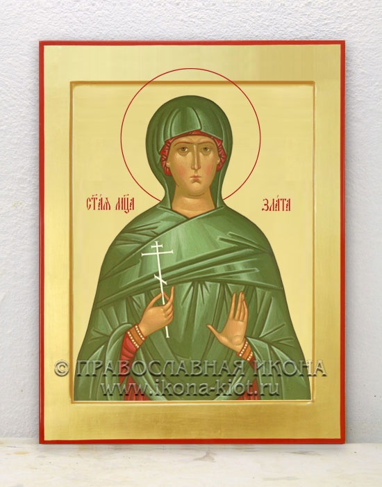 Икона «Злата (Хриса) Могленская» (образец №2)