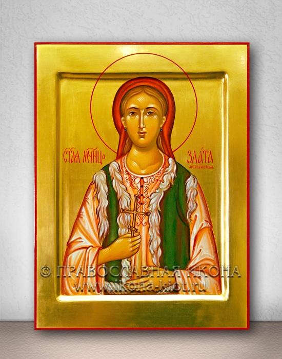Икона «Злата (Хриса) Могленская» (образец №4)
