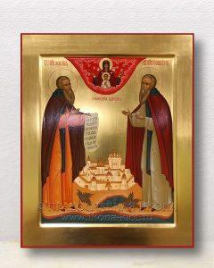 Икона «Зосима и Савватий Соловецкие, прп.» (образец №1)